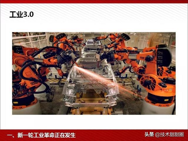 了解工业4.0和智能制造,看完这份PPT就够了